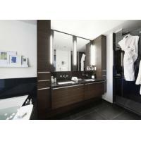 Five Star Hotel Illuminated Frameless Double Sided Mirror TV For Advertising Manufactures