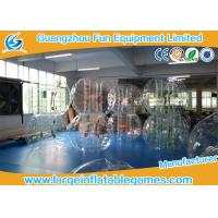 Transparent 1.5m Inflatable Hamster Footall Zorb Rolling Ball With Various Color Strings, Straps and Handles Manufactures