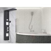 Dual Handle Control Bath Shower Panels Black Painting Appearance ROVATE for sale