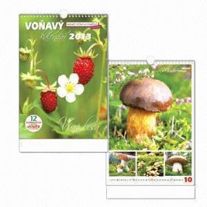 Desktop/Wall Calendar, Flower Smell, Incense Ink Manufactures