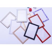 Round Corner A1 Snap Frame Poster Display , Wall Mounted Aluminum Picture Frames Manufactures