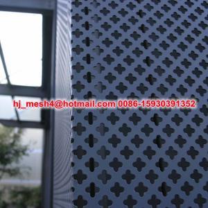 China Aluminium perforated external panel on sale