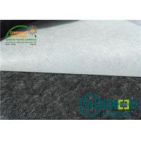Enzyme Wash 80°C Non Woven Interlining Coat Interlining For Garment Manufactures