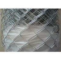 China Cyclone Wire Mesh Chain Link Fencing 50mm For Airports / Expressway on sale