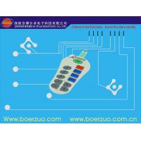 Flexible PCBA Waterproof Membrane Switch With Transparent Window Manufactures