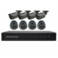 Quality Video Management System 8CH 720P AHD Security Camera Kit System/HD-AHD DVR Camera Kits for sale