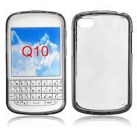 Transparent TPU Bumper Cell Phone Blackberry Q10 Cases Back Hard Cover Manufactures