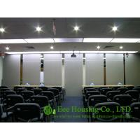 China Movable Partition Wall For Meeting Room, With Melamine Finish on sale