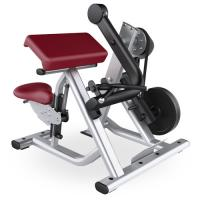 Gym Seated Biceps Curl Machine With Adjustable Cushions Custom Color Available Manufactures