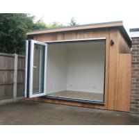 Waterproof Prefabricated Garden Studio / Garden Storage Room Original Wood Color Manufactures