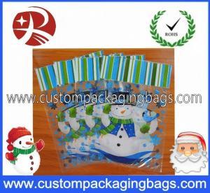 China HDPE Die Cut Handle Plastic Bags on sale