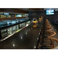 Quality Restaurant Prefabricated Custom Bar Countertops With Natural Marble Premade Bar for sale