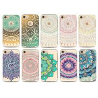 Flower Decorated Custom Made Phone Cases / Tpu iPhone protective cover Manufactures