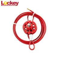 Wheel Type Cable Lockout Loto Lock Body Accepts up to 8 padlocks Manufactures