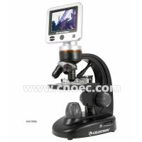 Triple Nosepiece Digital LCD Microscope , Portable 40x Microscope A33.5502 Manufactures