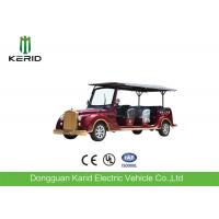 8 Seater 7.5KW Electric Vintage Cars Classic Retro Golf Cart CE Certificated Manufactures