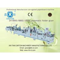 Mechanical Corrugated Paper Machine Folder Gluer For Paperboard Manufactures
