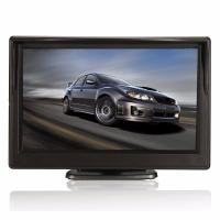 China 2 Video Input Backup Monitors For Autos , Car Reverse Camera Monitor 5 Display Size on sale