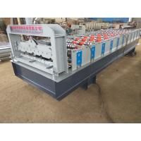 China 380V Stone Coated Metal Roof Tile Production Line , Roofing Sheet Making Machine on sale
