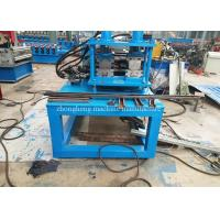 C U Lip Channel Roll Forming Machine Two In One With Servo Motor Drive Manufactures