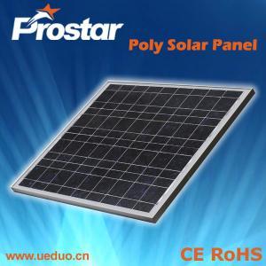 China Polycrystalline Silicon Solar Panel 40W on sale