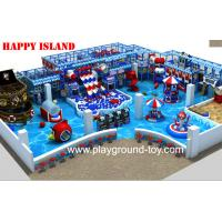 New design Indoor Playground Equipment For Sale With Big Ball Pool And Three Big Plastic Slide In line Manufactures