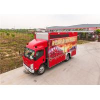 Quality Reasonable Layout Fire Brigade Vehicle With Rust Corrosion Spraying Processing for sale