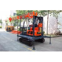 Light Portable Core Drill Rig Crawler-Mounted Engineering Drilling Machine Manufactures
