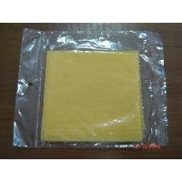 Buy cheap Tack cloth yellow automobile paint use cleaning cloth from wholesalers
