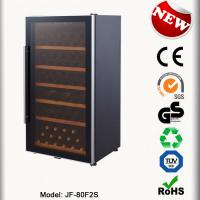 China 80 Bottles Electric Wine Dispenser JF-80AFS Wine Chiller No Vibration Wine Cabinets on sale