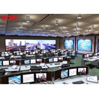 High Contrast CCTV Video Wall For Exhibition , Stadium And Gymnasium Manufactures
