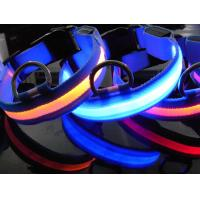 Red LED Flash Dog Collar Manufactures
