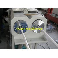 High Speed Extrusion Double Screw PVC Pipe Making Machine 45kw - 230kw Manufactures