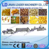 Core filling inflating snacks food processing line core filling food processing line Manufactures