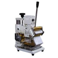 Adjustable Manual Roller Hot Stamping Machine 400mm Thickness Manufactures