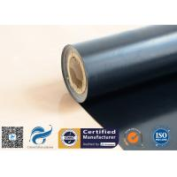 Eco Friendly Reclaimed Ptfe Coated Glass Cloth 0.25mm Thickness Manufactures
