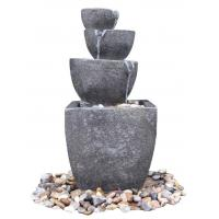 Wonderful 4 - Tier Water Fountains , Outdoor Tiered Water Fountains For Backyard Manufactures