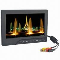 """7"""" 16:9 Aerial Photography Stand-alone Monitor with RCA Input, No Bluescreen when Signal is Weak Manufactures"""