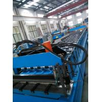 China Steel Sheet Corrugated Roll Forming Machine Solar Panel For Construction on sale