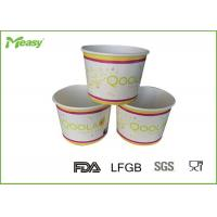 China 16oz Single Wall Ice Cream Paper Bowl for rice / sea food With Color Printed on sale