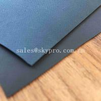 0.9mm Colored Glossy Rubberized Cloth Thick Neoprene Fabric , Airprene Fabric For Industry Boat Manufactures