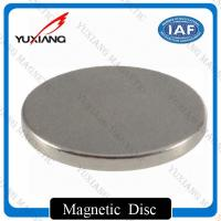 Super Strong N42 Small Neodymium Disc Magnets Precise Tolerance SGS Certification Manufactures