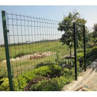 Heavy Duty Wire Fence Panels Galvanized Steel Fence Panels For Security Manufactures