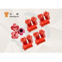Fine Alloy Steel Endurable Taper Button Bit For Environmental Drilling Manufactures