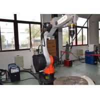 China 6 Axis MIG Welding Robot , Electric Welding Machine For Steel Structure on sale