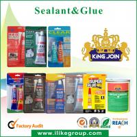 Multi Purpose 502 Strong Adhesive Glue Fast Dry Cyanoacrylate For Soft PVC Manufactures
