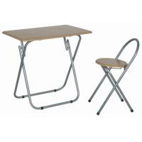 Portable Folding Rectangle Dining Tables With Chair