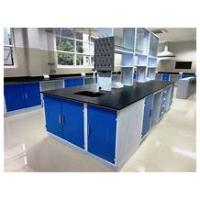China Custom Made Chemistry Laboratory Furniture Center Bench With Various Of Model on sale