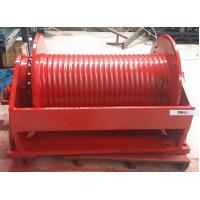 China Single Drum Hydraulic Industrial Electric Winch Multipurpose For Lifting Equipment on sale