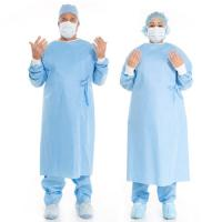 Medical Disposable Surgical Gown Cosy And Sweat Absorbing For Hospital / Lab Manufactures